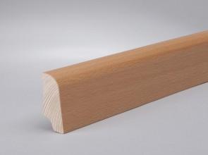 Furnierleisten Buche Echtholz (45 mm x 22 mm x 2500 mm)
