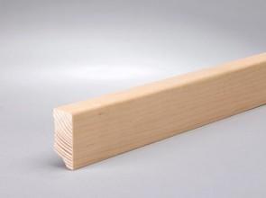 Sockelleisten furniert Ahorn (kanad.) (40 mm x 15 mm x 2400 mm)
