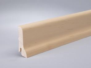 Sockelleiste furnierte Leiste Ahorn kanadisch (Profil 60mm x 22mm)