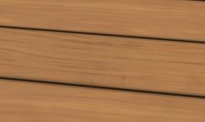 Garapa Holz-Terrassendielen 25 x 144 mm | glatt - gerillt - genutet