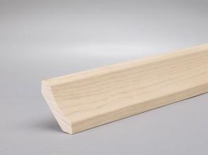 Hohlkehlleiste Ahorn kanadisch Massivholz 30mm x 30mm