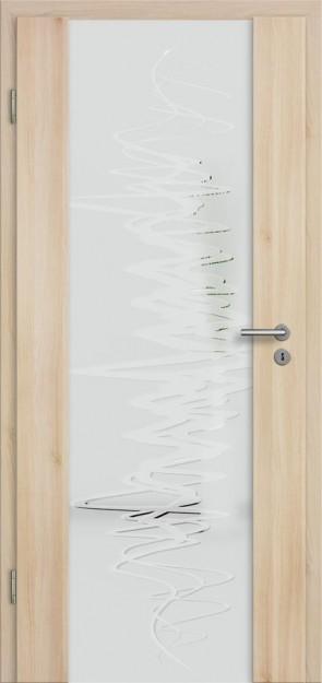 Holzglastür CPL Akazie (Lara 76)