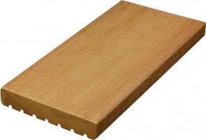 Ipè Terrassendielen Holz gerillt/genutet (21 mm x 140 mm)