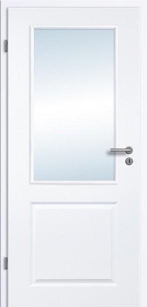 Tür Weißlack Rundkante 2GLA