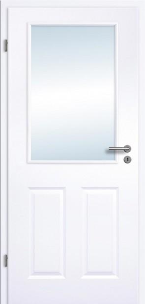 Tür Weißlack Rundkante 4GLA