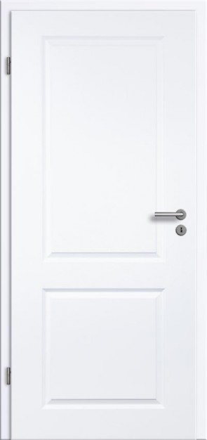 Tür Weißlack Rundkante 2G
