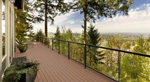 WPC Terrassen Komplett-Set (4m x 6m = 24m²) Dielen massiv