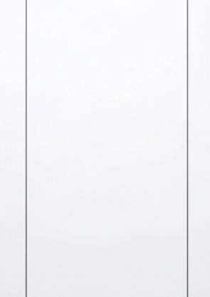 Muster Tür CPL Superweiß Lisene L6