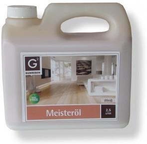 Holzboden Meisteröl Weiß