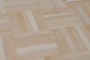 Mosaikparkett Buche ungedämpft Natur/Select (Stärke 8 mm) Würfel