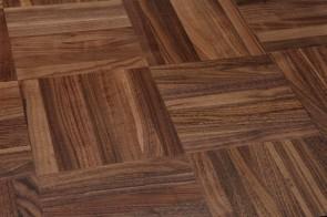 Mosaikparkett Nussbaum amerikanisch Natur/Select (Stärke 8 mm) Würfel