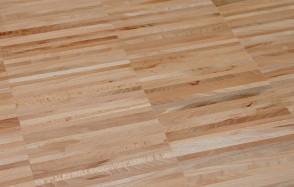 Muster Hochkantlamellenparkett Buche gedämpft Industrie (Stärke 10 mm / 22 mm)