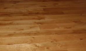 Muster Eichendiele Natur beste / ruhigste Sortierung, stark geräuchert, Breite 185 / 225 mm (Stärke 20 mm)