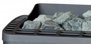 Saunasteine für Saunaofen | Körnung 50-100 mm (20 kg im Karton)