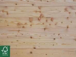 Sibirische Lärche Massivholzdielen 25 mm x 142 mm | FSC