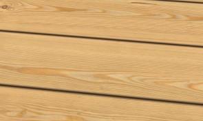 Terrassendiele Lärche 40mm x 143mm (Oberfläche glatt/glatt)