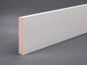 Sockelleiste MDF 100mm x 16mm grundiert weiß lackiert