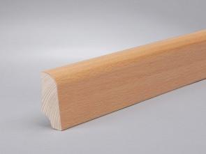 Sockelleisten Ahorn edelfurniert Standard-Profil (20 x 45 x 2700 mm)