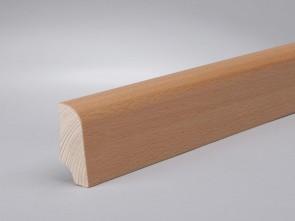 Sockelleisten Buche edelfurniert Standard-Profil (20 x 45 x 2700 mm)