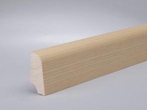 Sockelleisten Esche edelfurniert Standard-Profil (20 x 45 x 2700 mm)