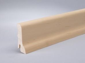 Sockel Furnierleisten Ahorn kanadisch (60 mm x 15 mm x 2400 mm)