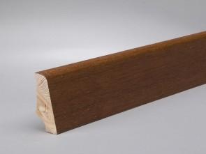 Sockelleisten Merbau edelfurniert Standard-Profil (20 x 45 x 2700 mm)