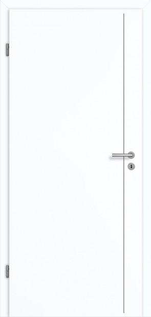 Tür Superweiß CPL Lisene L5 Curve