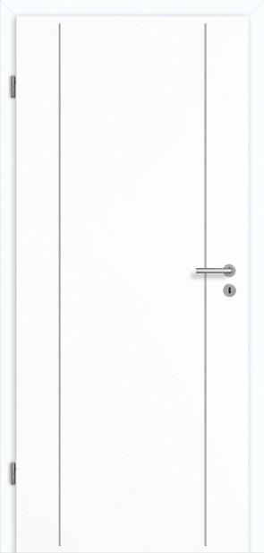 Tür Superweiß CPL Lisene L6 Curve