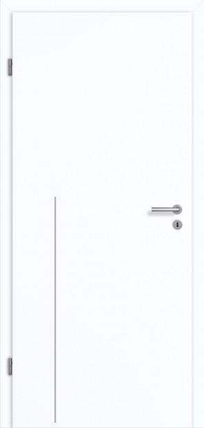 Tür Superweiß CPL Lisene L8 Curve