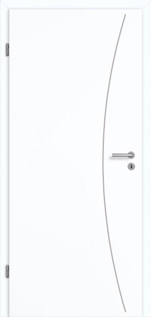 Tür Superweiß CPL Lisene L9 Curve