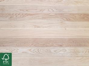 Eiche Terrassendielen Exklusiv 23 x 140 mm | Oberfläche glatt / glatt | FSC 100%