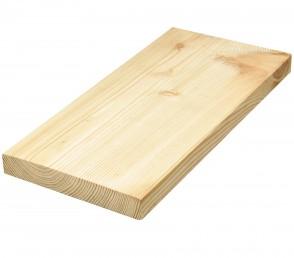Muster Lärche Terrassendielen - Holz glatt