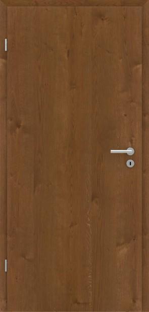 Tür Eiche Astig Natur Bronze, matt lackiert
