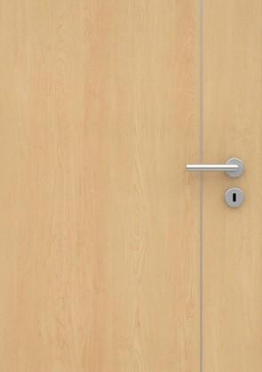 Ahorn CPL-Tür Muster mit Lisene L5