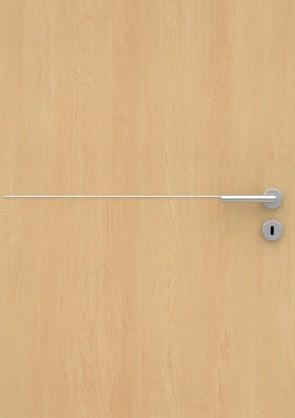 Ahorn CPL-Tür Muster mit Lisene L7