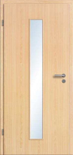 CPL Tür Ahorn LA 008M (Lichtausschnitt)