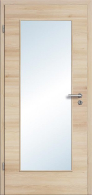 CPL Tür Akazie Lichtausschnitt 001 (Designkante)