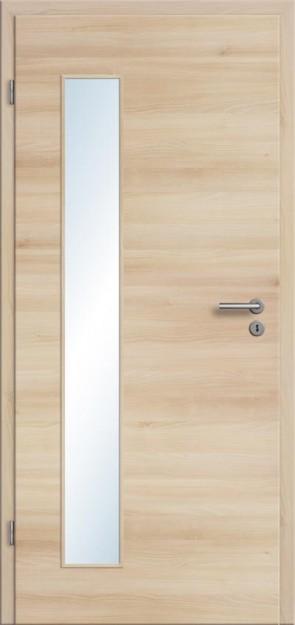 CPL Tür Akazie Lichtausschnitt 008B (Designkante)