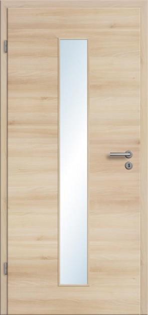 CPL Tür Akazie Lichtausschnitt 008M (Designkante)