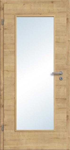 CPL Tür Eiche astig Lichtausschnitt 001 (Designkante)