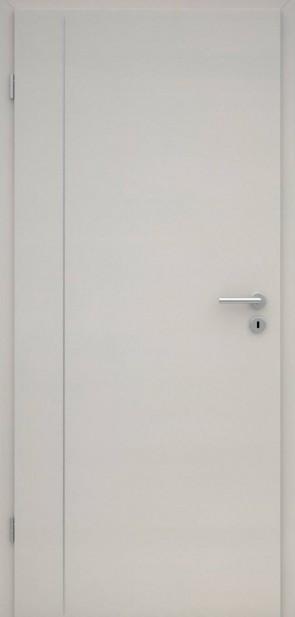 Tür CPL Uni Grau | Lisene L4