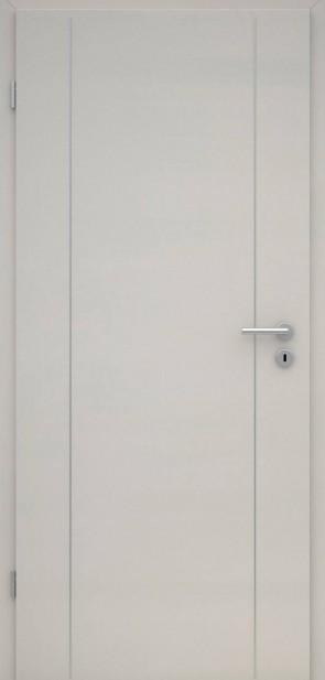 Tür CPL Uni Grau | Lisene L6