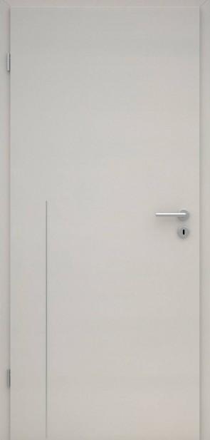Tür CPL Uni Grau | Lisene L8