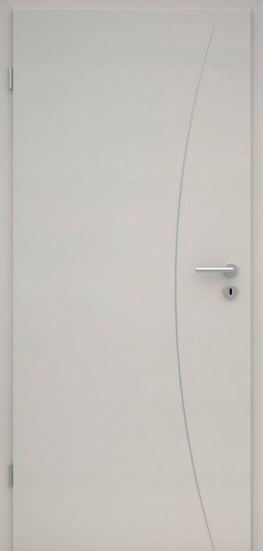 Tür CPL Uni Grau | Lisene L9
