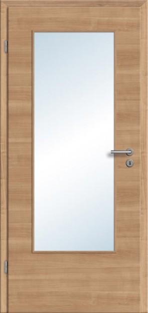 CPL Tür Noce Lichtausschnitt DIN (Designkante)
