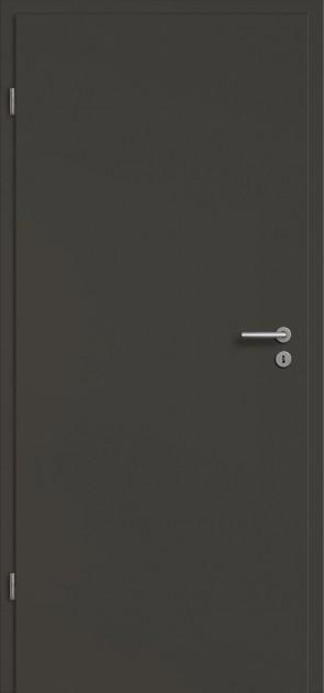 Tür CPL Onyxgrau (Tür + Zarge)