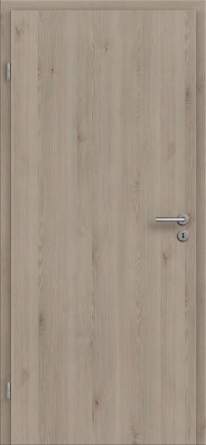 CPL Tür Pinie Silvergrey / Längsoptik