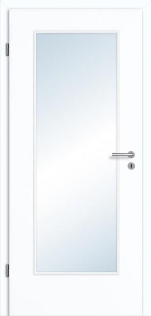 Tür Superweiß Lichtausschnitt 001 Zarge