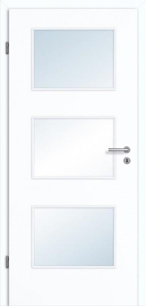 Tür Superweiß Lichtausschnitt 003 Zarge
