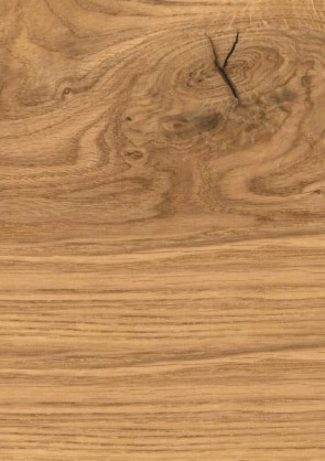 Muster Echtholz Eiche astig natur lackiert quer